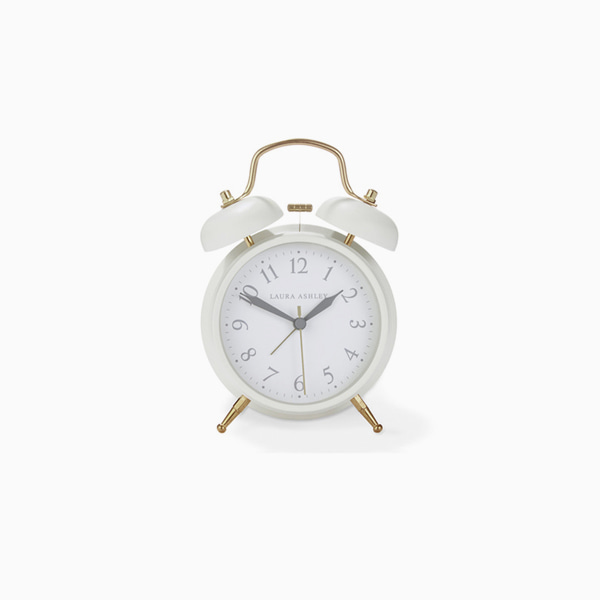 크림 미디움 알람시계 CREAM MEDIUM BELL ALARM CLOCK