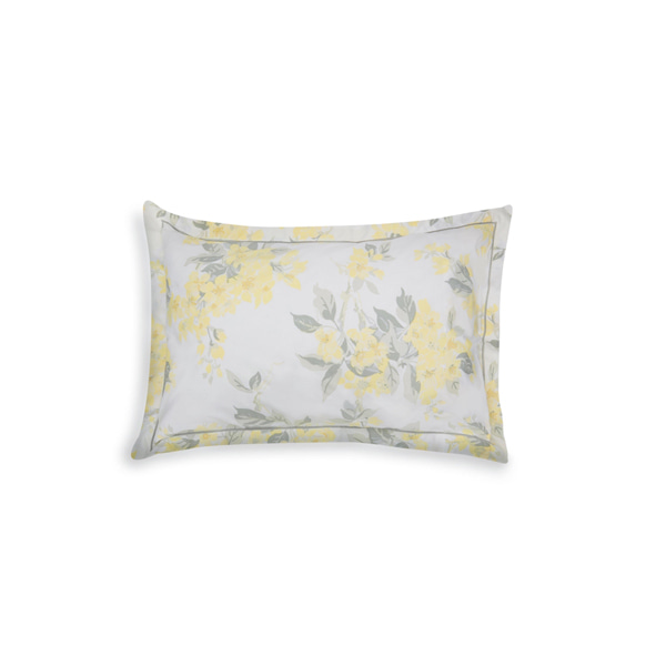 [ LAURA & BOWER ] 애플 블라썸 선샤인 베개커버  APPLE BLOSSOM PRINTED SUNSHINE OX PILLOWCAS