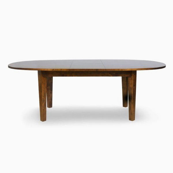 가렛 다크 타원형 식탁(6-8인)  GARRAT DARK EXTENDING OVAL DINING TABLE
